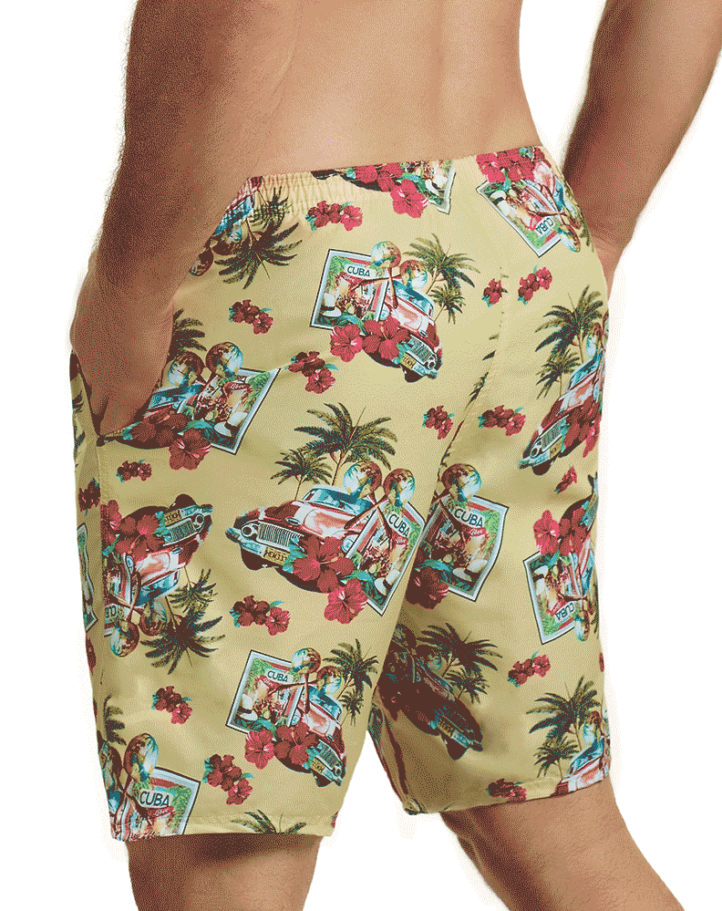 Hawai 51801 Swim Trunks Yellow