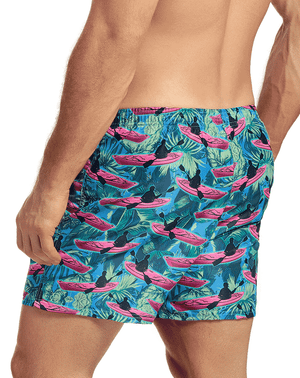 Hawai 51805 Swim Trunks Blue - StevenEven.com