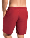 Hawai 51806 Swim Trunks Red - StevenEven.com