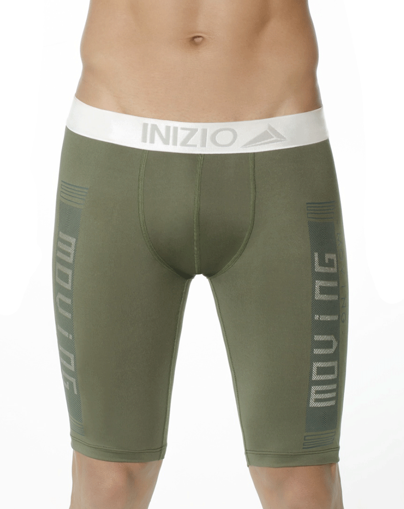 Inizio 29836 Athletic Movi Boxer Briefs Green