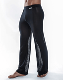 Joe Snyder Js30 Sheer Lounge Pants Black Mesh - StevenEven.com