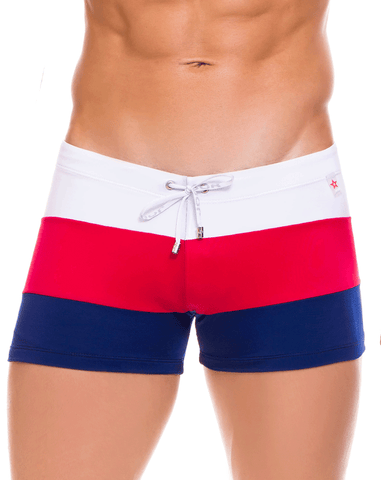 Clever 0663 Ivy Athlete Swim Trunks Green
