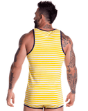 Jor 0727 Travel Tank Top Yellow - StevenEven.com