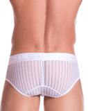Jor 0729 Onix Briefs White - StevenEven.com