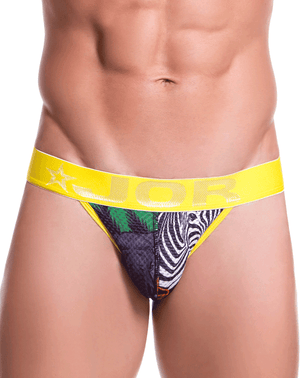Jor 0737 Africa Thongs Printed - StevenEven.com