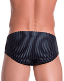 Jor 0760 Sugar Swim Briefs Black - StevenEven.com