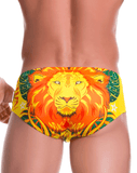 Jor 0764 Wild Swim Briefs Printed - StevenEven.com