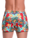 Jor 0775 Garden Mini Short Swim Trunks Printed - StevenEven.com