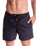 Jor 0786 Torino Athletic Shorts Black - StevenEven.com