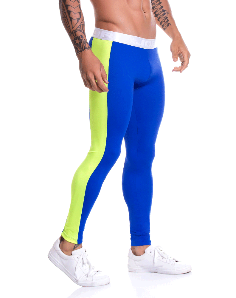 Jor 0788 Runner Athletic Pants Blue - StevenEven.com