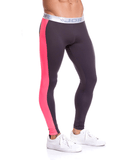 Jor 0788 Runner Athletic Pants Gray - StevenEven.com