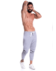 Jor 0791 Boston Athletic Pants Gray - StevenEven.com