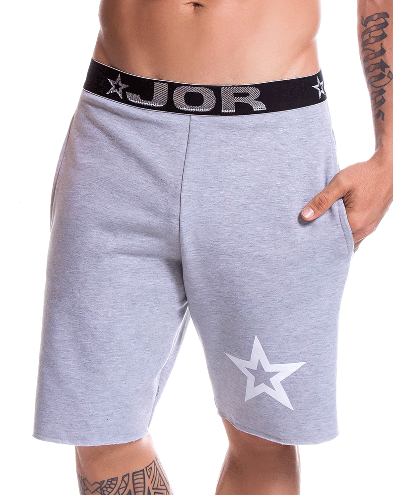 Jor 0794 Boston Athletic Shorts Gray - StevenEven.com