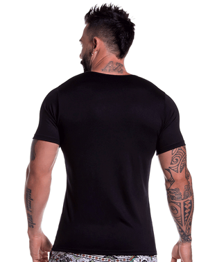 Jor 0803 Bassic T-shirt Black