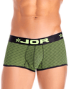 Jor 0817 Neon Boxer Briefs Black