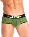 Jor 0818 Neon Briefs Black