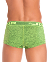 Jor 0827 Pop Boxer Briefs Green - StevenEven.com