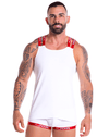 Jor 0854 Power Tank Top White