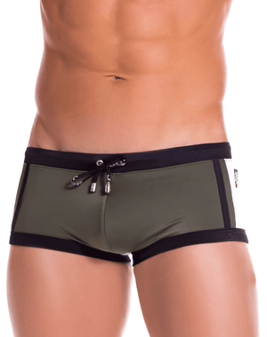 Jor 0890 Tokio Swim Trunks Green - StevenEven.com