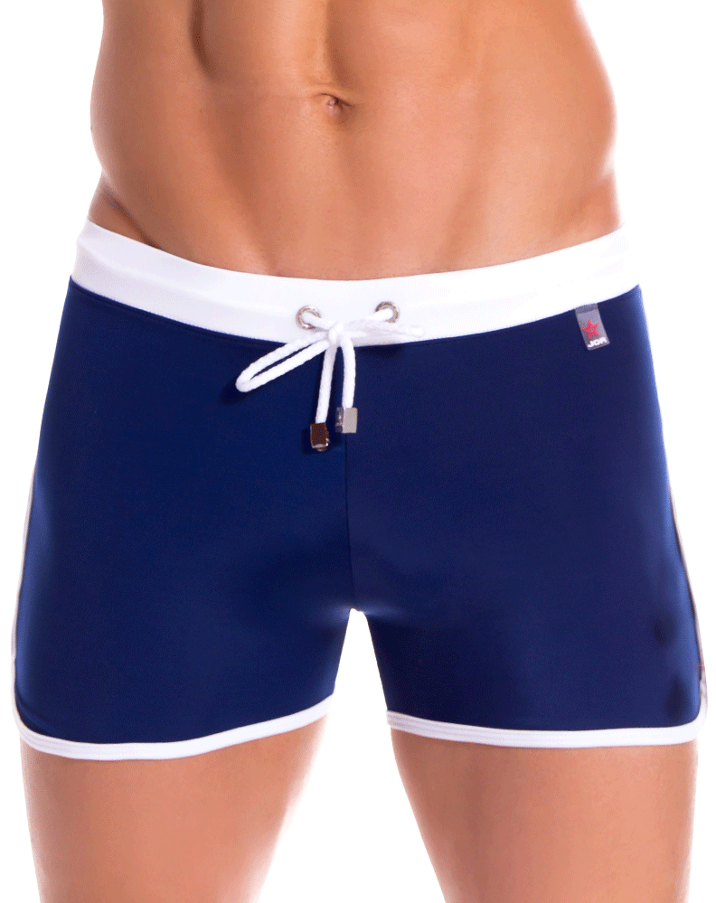 Jor 0892 Toledo Swim Trunks Blue - StevenEven.com