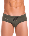 Jor 0893 Hot Swim Briefs Green