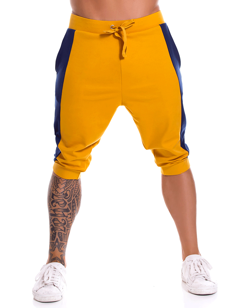 Jor 0918 Milan Athletic Pants Mustard