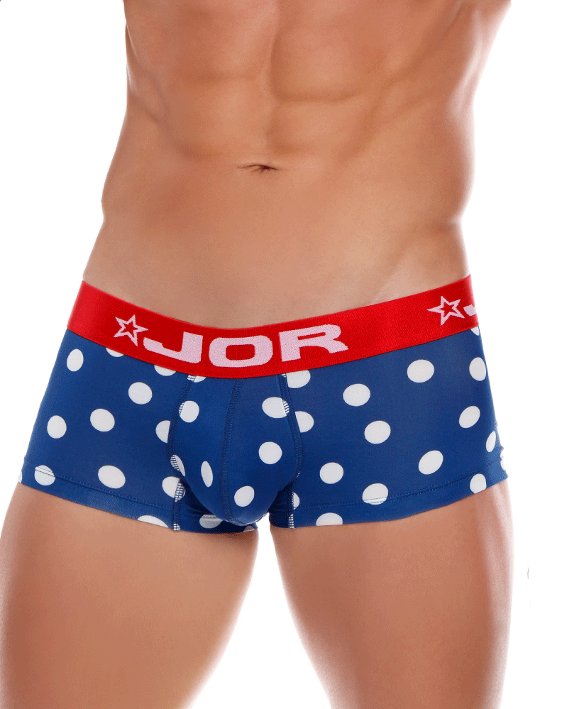 Jor 0972 Dots Trunks Blue