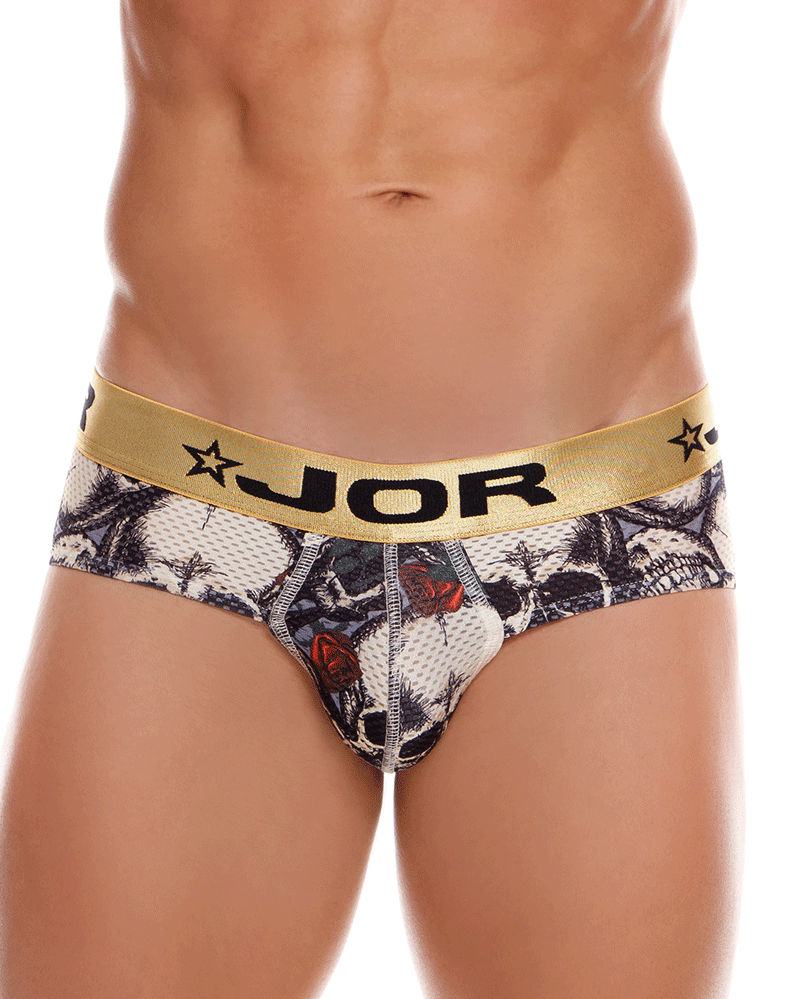 Jor 0996 Wasabi Briefs Printed