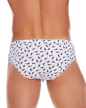 Jor 1006 Whales Briefs White