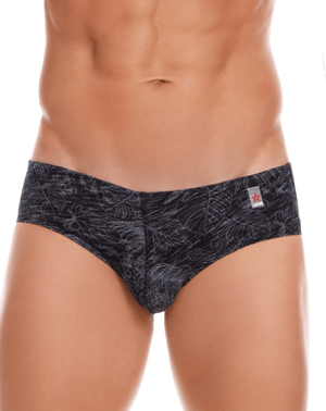 Jor 1008 Birds Briefs Black