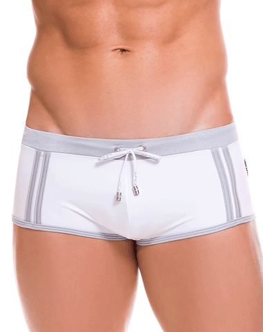 Clever 0652 Darkling Swim Briefs White