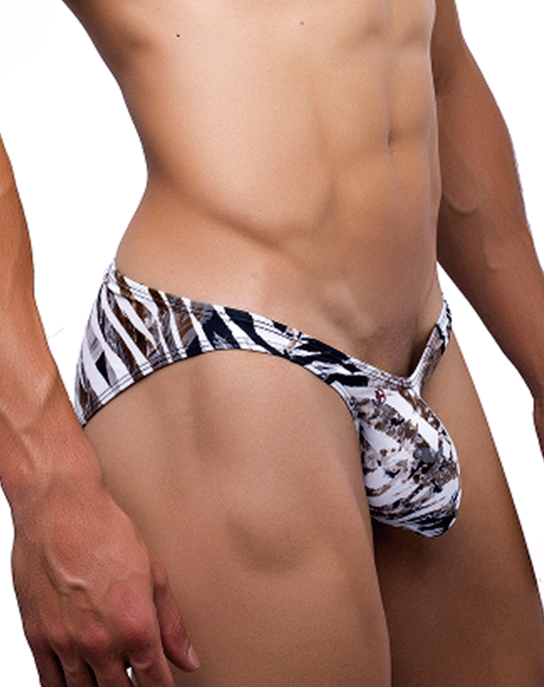 Joe Snyder Jsbul04 Bulge Full Bikini Leopard