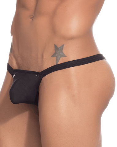 Joe Snyder JSBUL02 Thong Bulge Enhancement Black Mesh