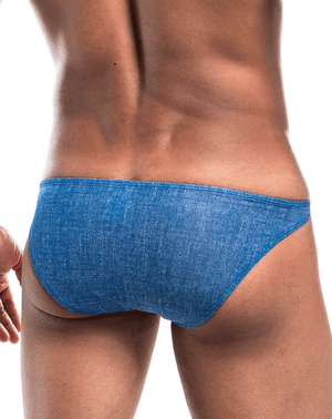 Joe Snyder Jsbul04-denim Denim Bulge Full Bikini Blue Denim