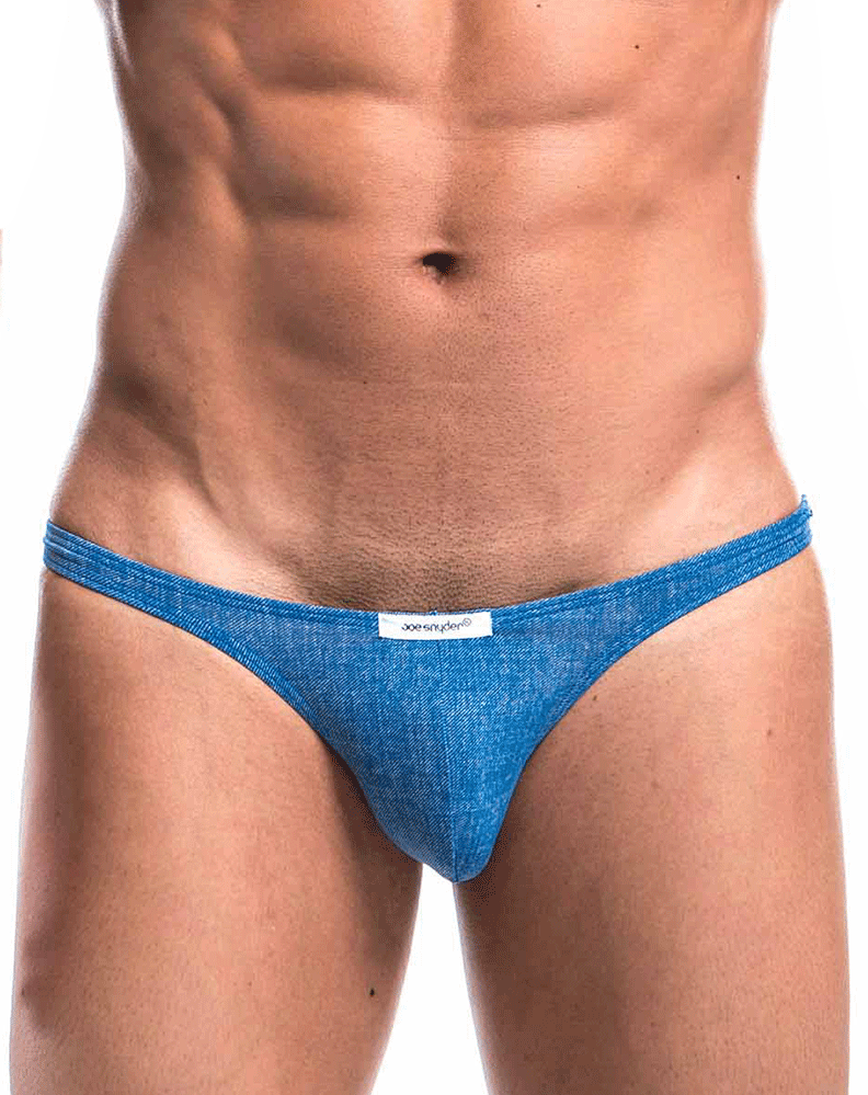 Joe Snyder Js07-denim Denim Capri Blue Denim - StevenEven.com