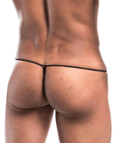 Joe Snyder Js02-denim Denim G-string Red Denim - StevenEven.com