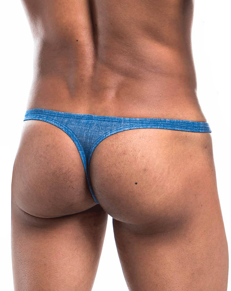 Joe Snyder Js03-denim Denim Thong Blue Denim