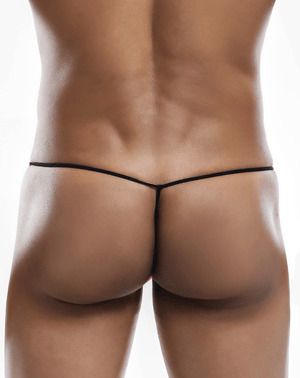 Joe Snyder Js02-pol Polyester G-string Black-poly