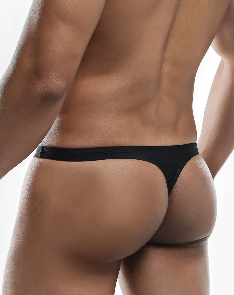 Joe Snyder Js03-pol Polyester Thong Black-poly