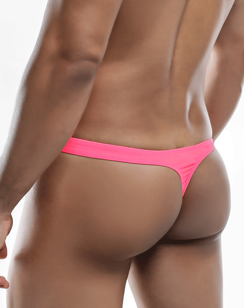 Joe Snyder Js03-pol Polyester Thong Neon Pink-poly