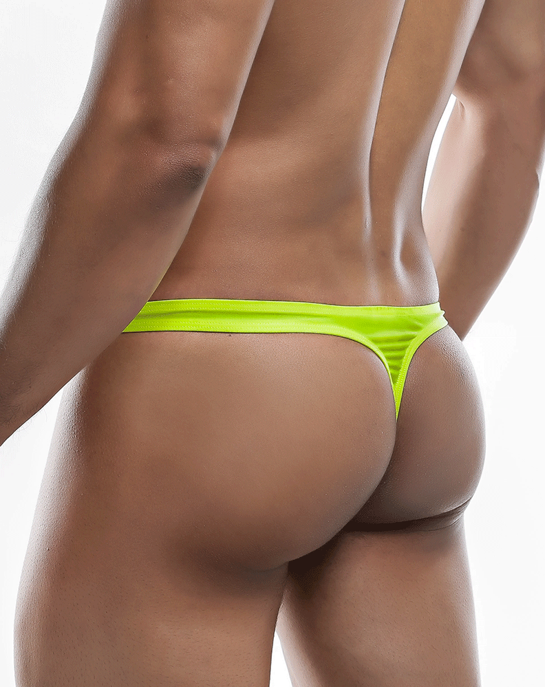 Joe Snyder Js03-pol Polyester Thong Yellow-poly
