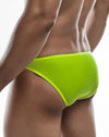 Joe Snyder Jsbul04-pol Polyester Bulge Full Bikini Yellow-poly