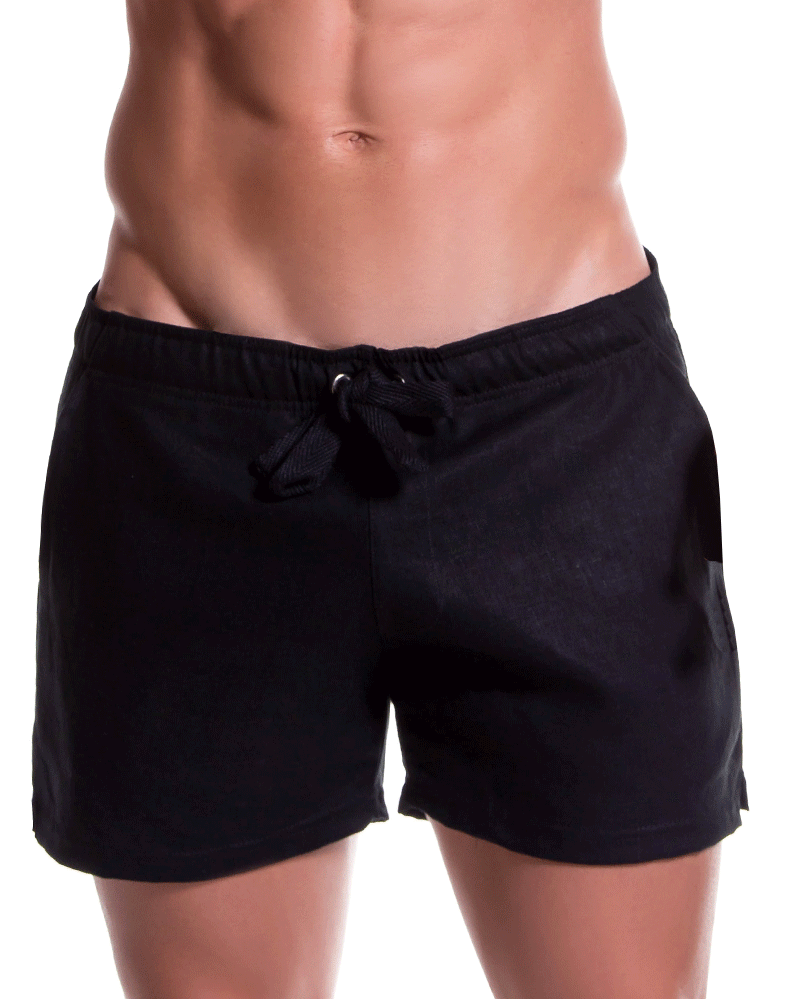 Jor 0813 Copacabana Mini Shorts Black