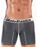 MALE BASICS MB002 Boxer Brief Asphalt 10