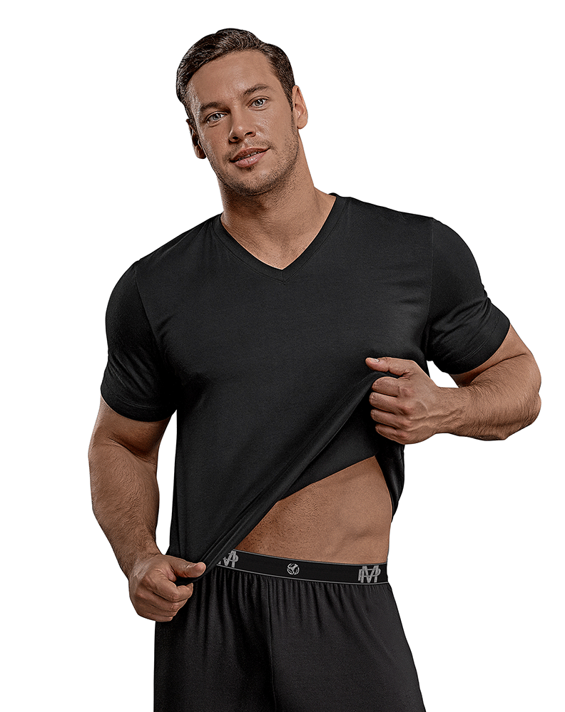 Male Power 102-253 Bamboo T-shirt Black