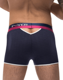 Male Power 141-246 French Terry Cutout Short Navy - StevenEven.com
