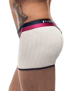 Male Power 141-246 French Terry Cutout Short Ivory