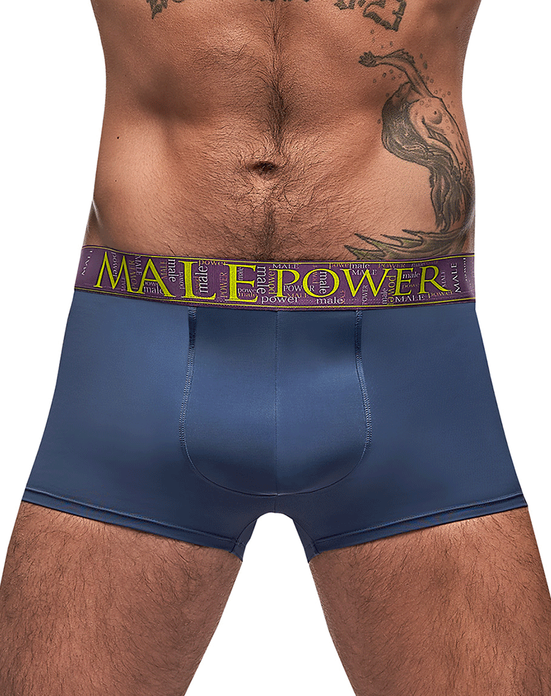 Male Power 150-249 Avant-garde Enhancer Short Antique Blue - StevenEven.com