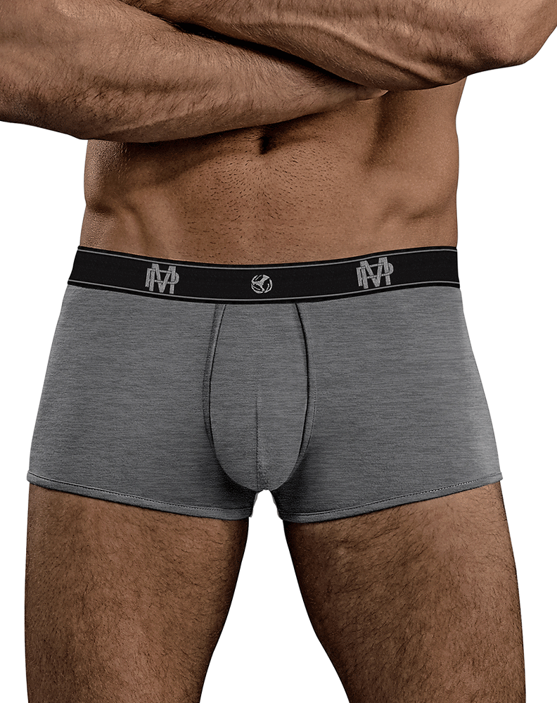Male Power 150-253 Bamboo Mini Short Gray