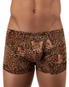 Male Power 153030 Animal Pouch Boxer Briefs Brown